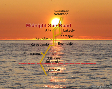 Midnight Sun Road